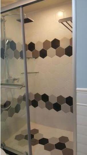 简非 瓷砖 地砖 厨房卫生间卧室客厅墙砖釉面六角砖北欧风格仿古砖 浅灰色 其它 晒单图