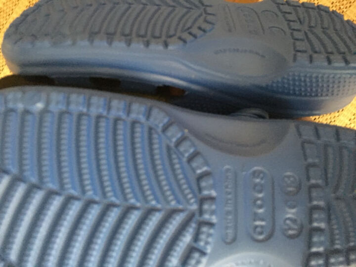Crocs卡骆驰童鞋 儿童瑞伦小克骆格塑模洞洞鞋男女童宝宝鞋沙滩凉鞋/15908 深蓝-410 35(215mm) 晒单图