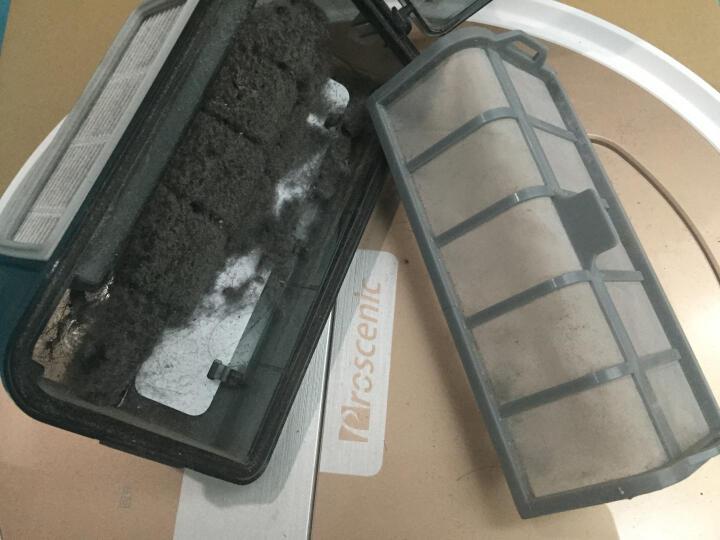 浦桑尼克(Proscenic) 台湾雪豹 智能扫地机器人 家用吸尘器 全自动拖地擦地机超薄 流光银 滚刷版 晒单图
