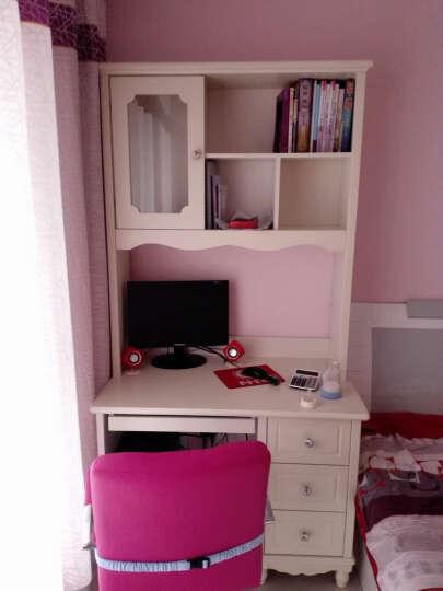 树之家 电脑桌台式书桌书柜组合 1.2米转角书桌+转椅/安装 晒单图