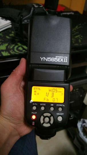 永诺YN-565EXIII 机顶闪光灯TTL自动测光佳能单反相机热靴灯打光灯 佳能口 晒单图