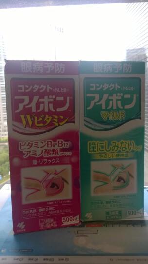 小林制药KOBAYASHI日本进口洗眼液眼药水洗眼水500ml眼部护理缓解眼疲劳景甜洗眼水 深蓝色2-3度 晒单图