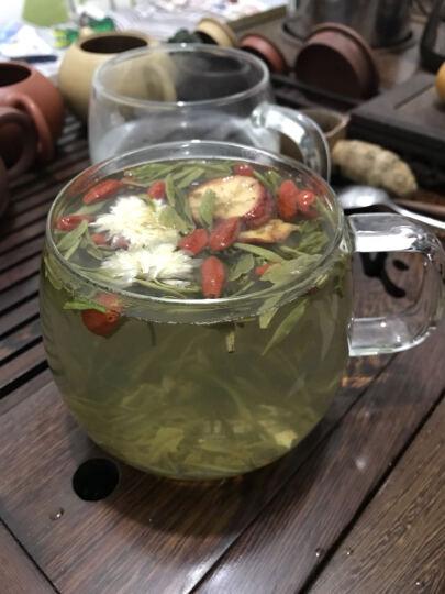 乐怡(vatiri) 情侣杯男女玻璃水杯 玻璃杯带茶漏隔热泡茶杯子 女-橘子橙 晒单图