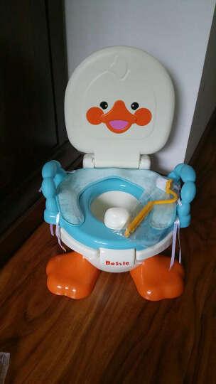 贝喜(BESSIE BABY) 儿童坐便器 婴儿便盆尿盆小马桶 男女宝宝座便器 蓝色 晒单图