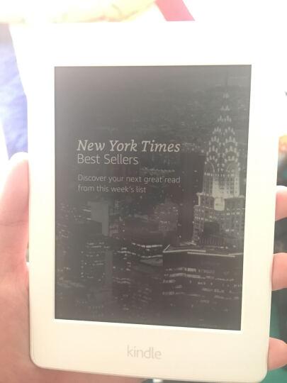Kindle Paperwhite 6英寸经典版电子书阅读器 白色+电纸书6个月碎屏险 晒单图