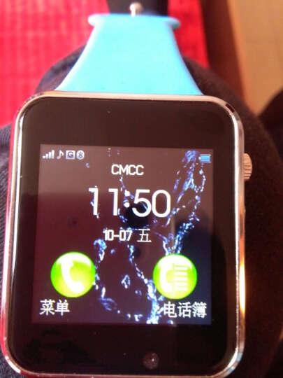 妙弦 【送内存卡】 儿童电话手表智能手表手机插卡通话触屏定位电话手表学生 尊享版黑色 定位+APP下载+16G卡 晒单图