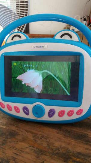 【香港】亿米阳光WIFI触屏儿童双话筒早教机视频故事机7英寸娃娃机可充电下载益智玩具 WIFI版7英寸蓝色16G双话筒 晒单图