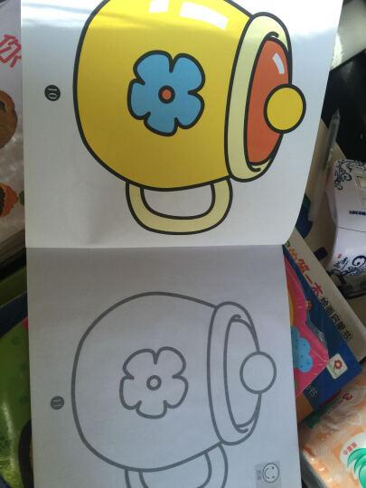 涂涂画画儿童书:巧手绘画涂色(创意篇 1星) 晒单图