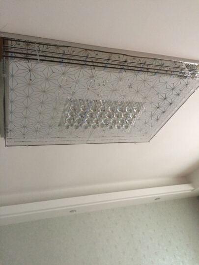 御尊LED客厅水晶灯吸顶灯卧室灯饰灯具餐厅大气现代简约创意 升级款120*80CM LED无极调光调色110W 晒单图