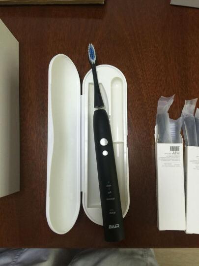 拜尔(BAIR)X6 智能电动牙刷 USB感应式充电 成人声波震动牙刷 摩卡黑 晒单图