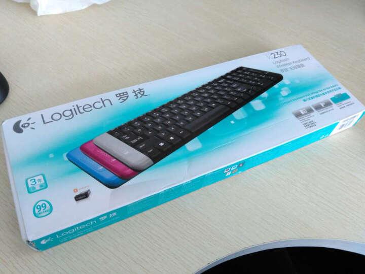 罗技(Logitech)K230 无线键盘+B175 商用无线鼠标(黑色) 键鼠套装 晒单图