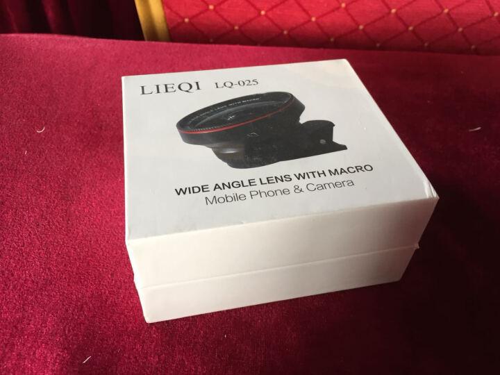 猎奇(LIEQI)LQ-025手机镜头 抗畸变广角微距套装 苹果华为外置摄像头 自拍照相镜头 苹果红 晒单图