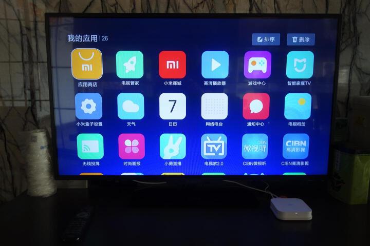 小米(MI) 小米盒子3增强版 4K网络机顶盒智能无线电视盒子wifi高清播放器可手机投屏 小米USB插线板白+ 加强版-白色 晒单图