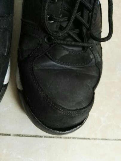 悍捷路 男鞋 男士休闲鞋 冬季保暖加绒休闲皮鞋  韩版运动板鞋  鞋子男款 黑色 42 晒单图