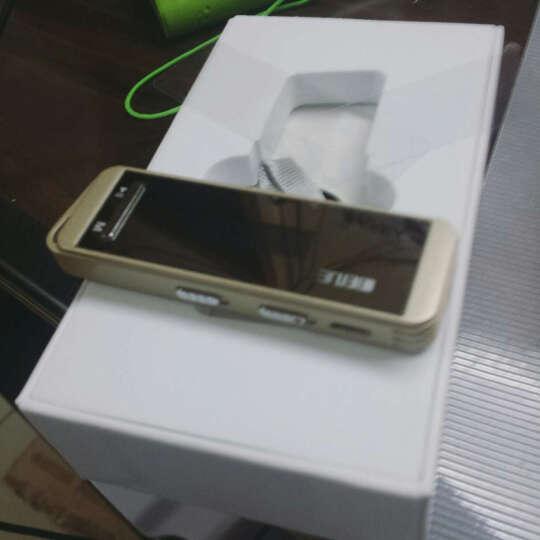 炳捷N9000 随身听mp3 学生 迷你有屏 运动便携mp3跑步 hifi无损音乐播放器 金色16G 晒单图