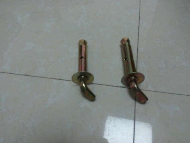 金凯欧 墙挂重型螺栓螺钉挂钩品牌电热水器   膨胀螺丝 精品120度2只 晒单图