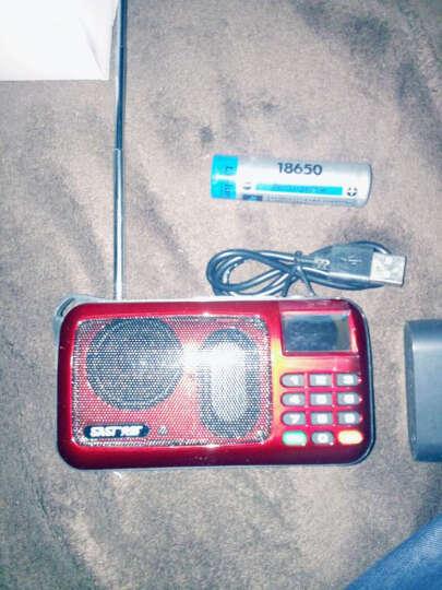 先科 收音机MP3插卡音箱便携式迷你音乐播放器外放老人小音响低音炮广场舞老年随身听 土豪金标配不带卡 标配(无戏曲) 晒单图