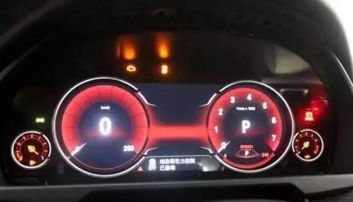 宝马5系6系7系GT原装全液晶仪表盘转速表X3数字显示屏改装包施工 直营连锁预约金(其他型号咨询客服) 晒单图