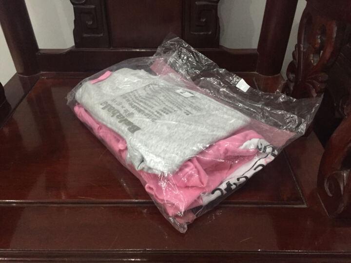 巴拉巴拉(BALABALA)童装女童套装中大童女孩儿童长袖两件套女28041170102粉绿140 晒单图