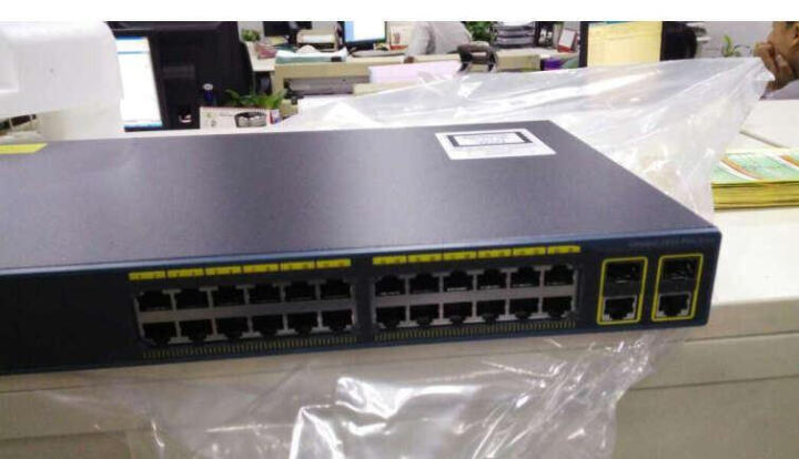 思科(Cisco)WS-C2960+24TC-L 24口百兆可管理 交换机 晒单图