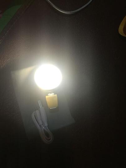 REMAX 补光灯LED手机自拍美颜 主播直播打光摄影灯 9档调节充电式夜拍照摄像闪光灯 镜面补光灯-绮梦蓝 晒单图