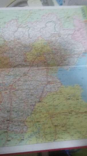 中国交通旅游地图册(红革皮) 晒单图