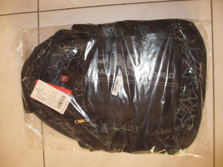 爱华仕(OIWAS)运动韩版大容量 背包 双肩包 男包包 电脑包 书包休闲包4040 墨蓝色(B款) 晒单图