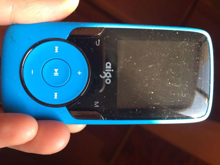 爱国者(aigo)MP3-102跑步运动型蓝牙MP3播放器无损HIFI音乐有屏迷你MP4 102蓝色/ 8G官方标配+原装充电器 晒单图