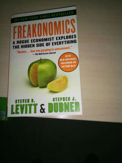 Freakonomics[魔鬼经济学] 晒单图