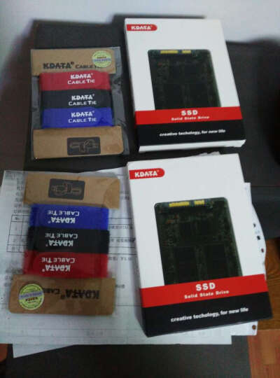 KDATA 金田60G120G240G32G SSD固态硬盘SATA3笔记本台式机电子硬盘 非64G A3 120G + 数据线 晒单图