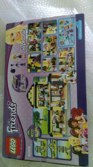 乐高(LEGO) LEGO乐高积木迪士尼公主好朋友系列立体拼插拼装启蒙女孩积木玩具六一儿童节礼物玩具 L41126心湖城马术俱乐部 晒单图
