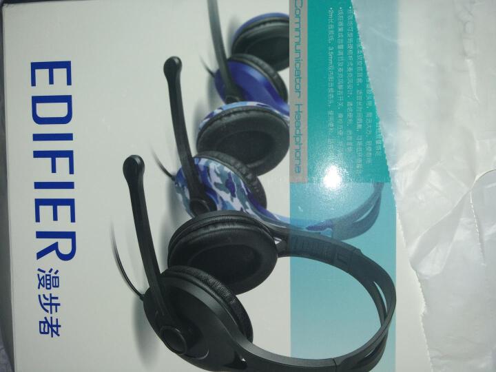 漫步者(EDIFIER)K800 高品质游戏耳机 电脑耳机 电脑耳麦 绝地求生耳机 吃鸡耳机 黑色 晒单图