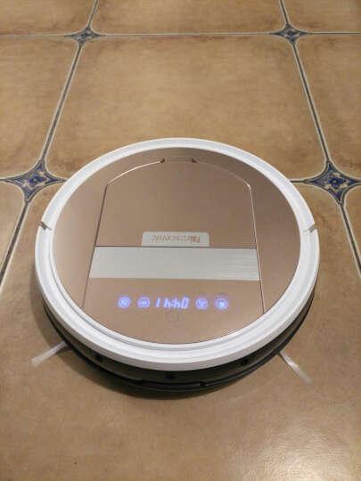 浦桑尼克(Proscenic) 台湾雪豹 智能扫地机器人 家用吸尘器 全自动拖地擦地机超薄 柠檬金 扫吸互换 晒单图