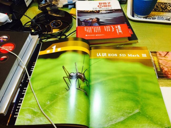 蜂鸟摄影学院Canon EOS 70D单反摄影宝典(附光盘+构图速查手册+镜头速查手册) 晒单图