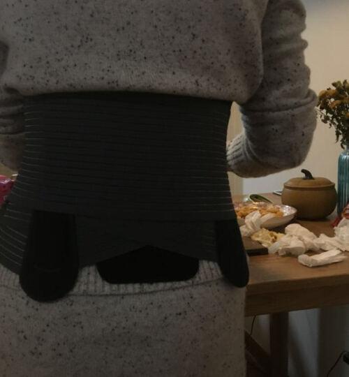 法国THUASNE进口护腰带 腰间盘突出 医用腰托钢板夏季透气薄款 男女老人加强型康复 宽版(26cm) L码(适合腰围95-115cm) 晒单图