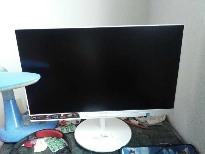 飞利浦(PHILIPS)  AH-IPS面板 硬屏窄边框 广视角电脑显示器 白色(W) 21.5英寸   224E5QSW/B 晒单图