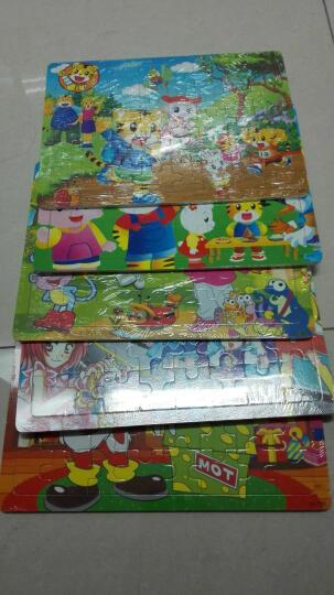 米瑟 1000片木制木质幼儿早教益智拼图洋洋拼版宝宝拼图 儿童玩具 城堡夜色 晒单图