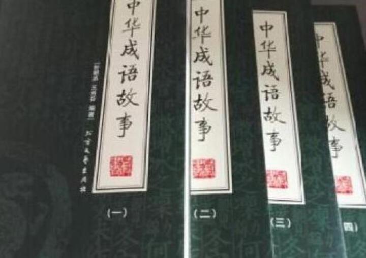 中华成语故事 套装全4册 中华成语故事大全集 中国成语故事 成语典故大全集 晒单图