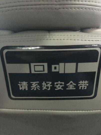 帝图 卡通可爱娃娃汽车贴纸汽车提醒警示贴 请系好安全带 车内禁止吸烟 温馨反光汽车贴纸 款式10系好安全带 15厘米长单张 晒单图