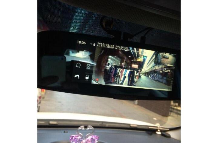 任e行EM60双镜头后视镜行车记录仪7.0英寸大屏 选配导航流动测速多功能一体机 EM65双镜头+倒车影像+-无卡 晒单图