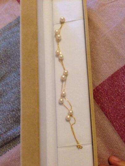 花思蝶 日本Akoya海水珍珠项链 满天星正圆极强光白色女款海水项链 送妈妈送女友 8-8.5mm11颗16寸 晒单图