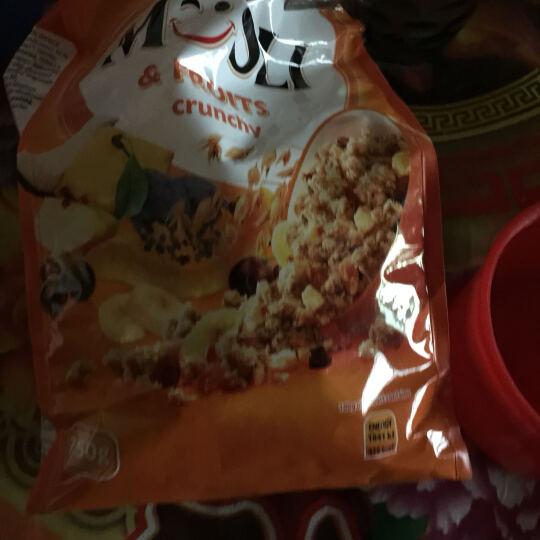波纳维塔欧洲进口水果干蜂蜜坚果仁脆麦片750g*2袋 即食冲饮儿童早餐谷物颗粒麦片 晒单图