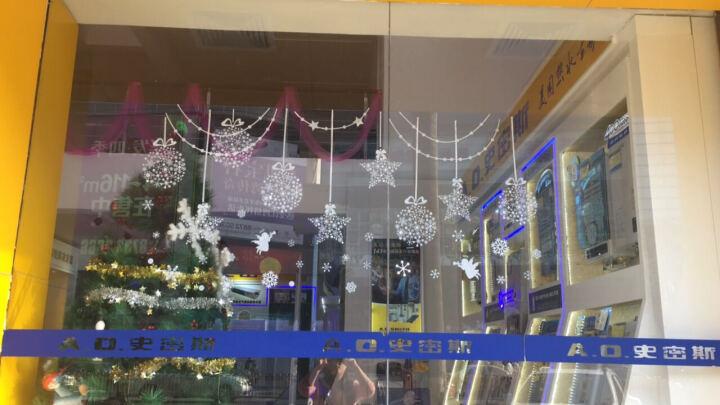 麦朵 新年装饰品墙贴画橱窗玻璃贴纸窗花门贴春节过年布置喜庆灯笼福字 11.金鼠送财 晒单图