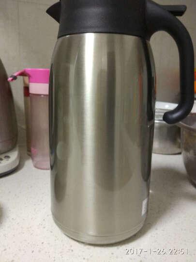 Tiger虎牌保温壶 家用保温瓶热水壶 不锈钢热水瓶暖壶PWM-A20C-XC不锈钢色2000ml 晒单图