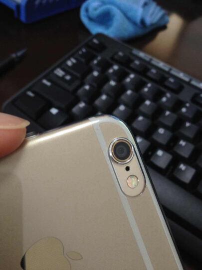洛克ROCK iPhone6s手机壳透明硅胶保护套 适用于苹果6/6s防摔手机套 4.7英寸-透黑(带防尘塞) 晒单图