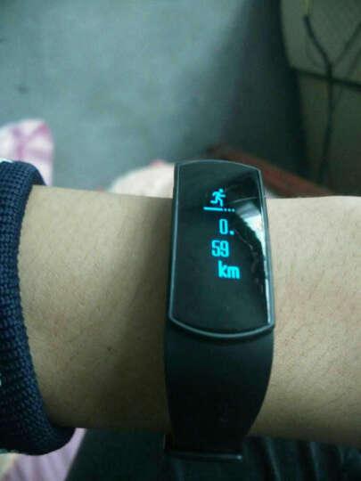 博之轮(BOZLUN)手表 学生运动电子表男女款潮流时尚手表智能手环防水防丢血压心率手环智能兼容 白色-心率血氧血压升级版B15S 晒单图
