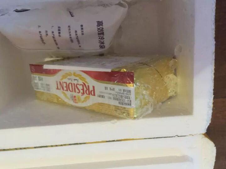 总统牌 法国烘培原料 黄油 淡味黄油 发酵黄油  适合做饼干面包可直接食用 总统牌无盐黄油棒100克 晒单图
