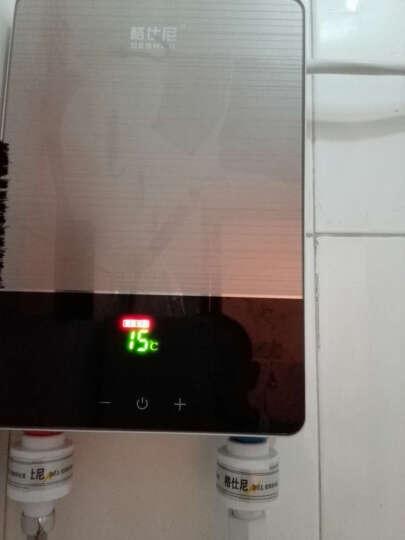 格仕尼即热式电热水器电家用卫生间加热器速热洗澡器小型淋浴加热宝即开即热厨宝快速加热恒温洗澡机免储水 苍穹黑旗舰款【6000W+全套配件+变频自检】 标准版 晒单图