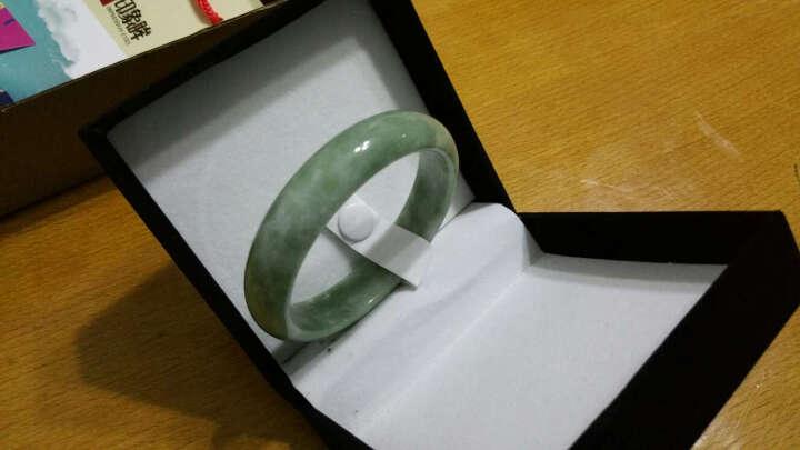 【南阳馆】印象眸 浅绿色玉石镯子 玉器手镯 女款 多口径可选 定制款 晒单图