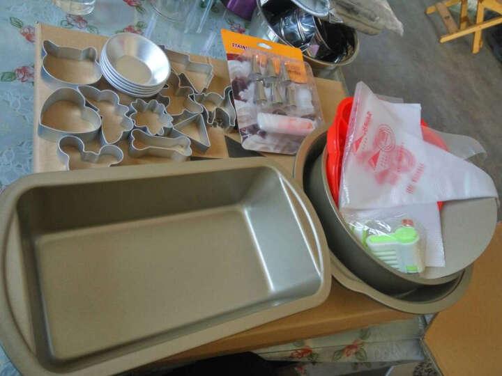 煌小鲜 烘焙工具套装家用烤箱入门烘培专业模具套餐制作烤蛋糕月饼披萨曲奇吐司 B套装  精简套装 晒单图